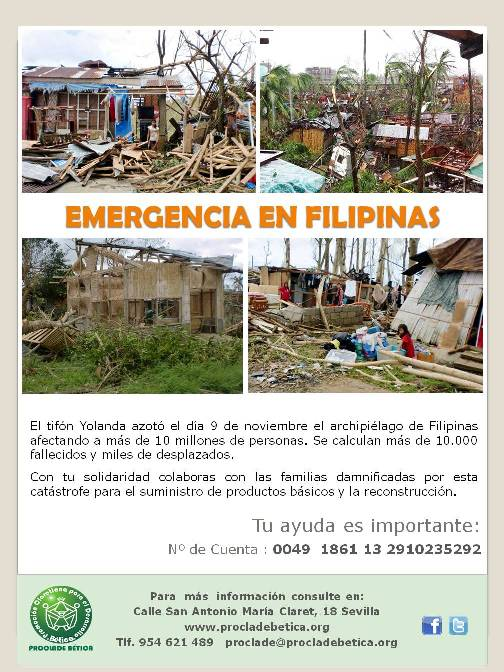 CAMPAA DE EMERGENCIA FILIPINAS